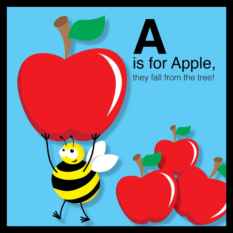 Harry the Bee's ABCs - Fun and educational book - Fantail Books