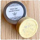 Lotion Bar - Lavender & Lemon naked bar