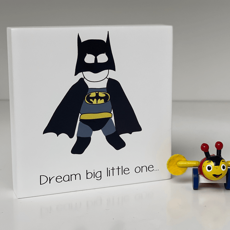 Art block - Dream big batman