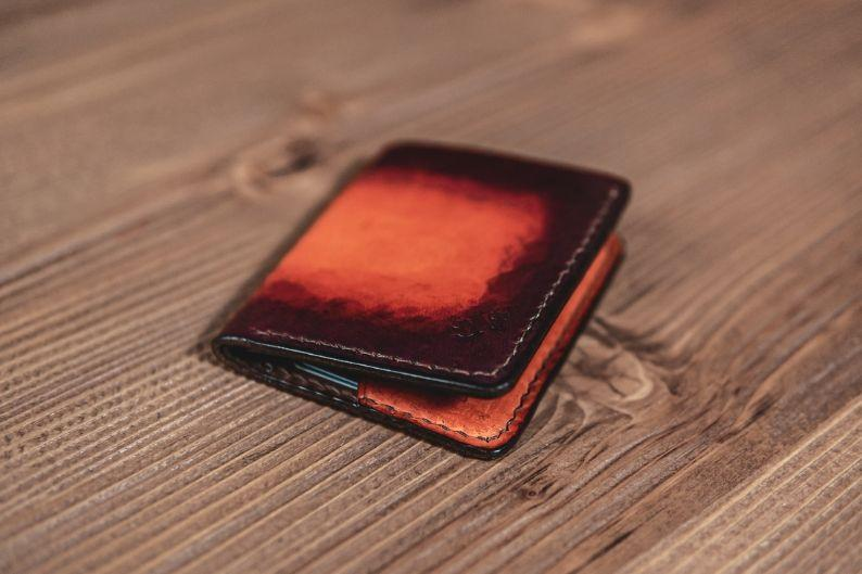 Entrepreneur Handmade Leather Minimalist Wallet