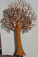 Corten Steel Laser Cut Tree
