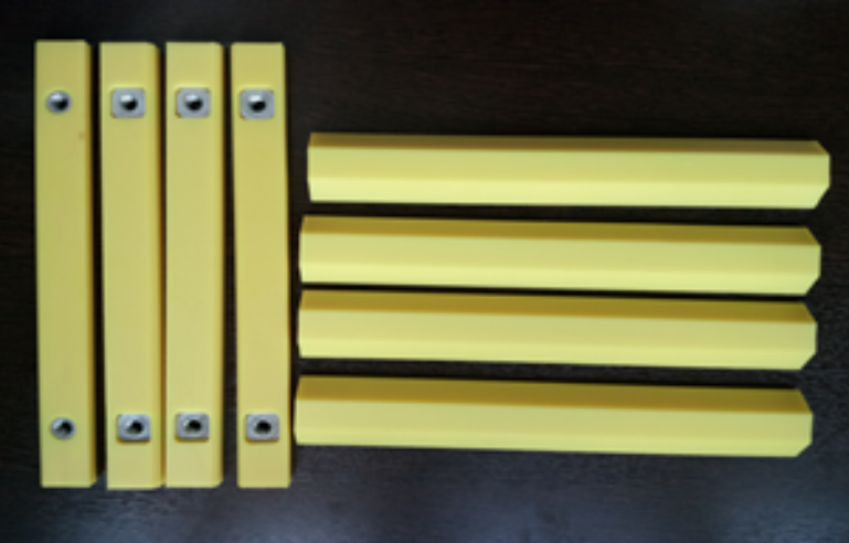 123-03215-4764SP JCB. Pad Wear Strip YELLOW COLOR