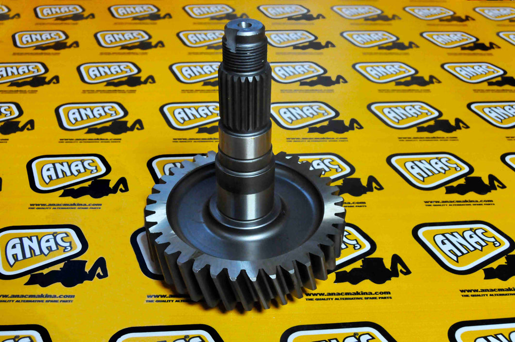 Jcb Spare Part Backhoe - 36 Tooth Gear Transfer Tooth Part No. 445/64401