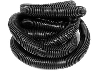 Split Loom UV Black Polyethylene - Sold in Rolls of 100 FT.
