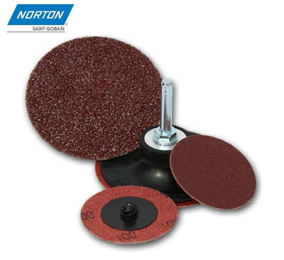 "Norton 2"" Sanding disc (Type III) - Sold in a Box of 100pcs"