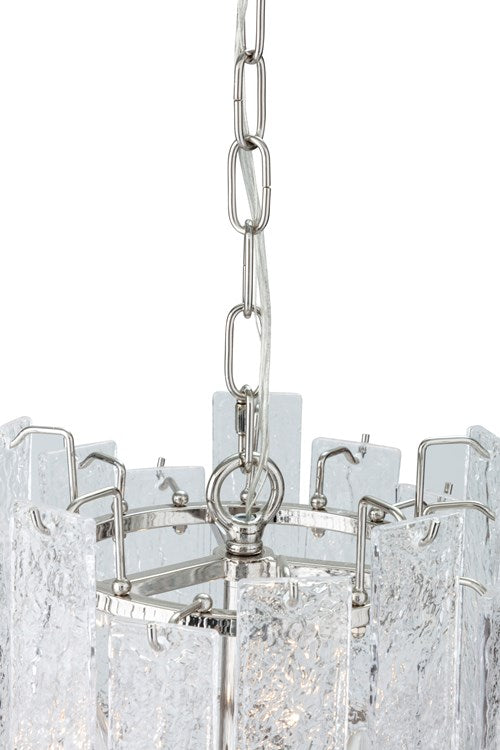 NK Icelandie Glass Chandelier