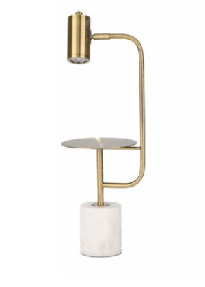 Task Lamp on Marble Base