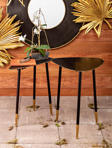 Harris Metal Nesting Tables - set of 2