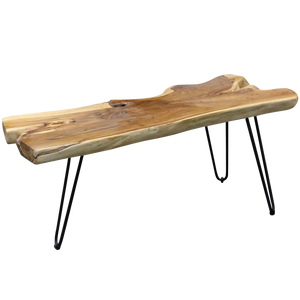 Baron Coffee Table - Tea Wood