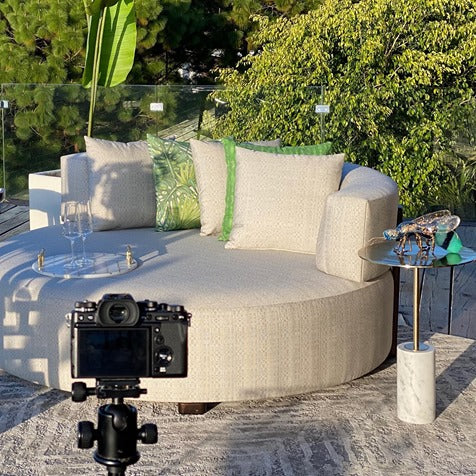HARBOR OUTDOOR LOVE SEAT