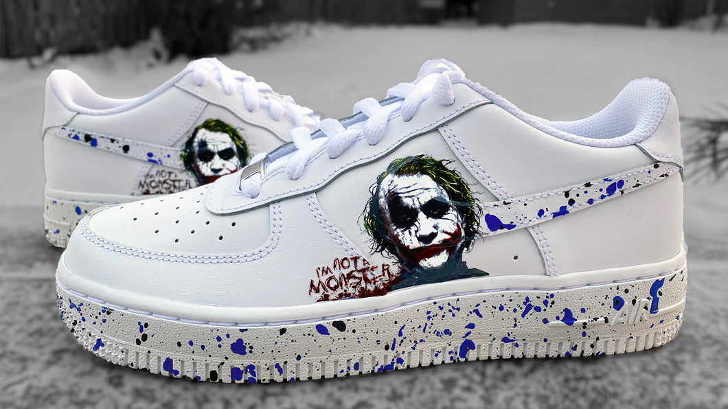 Joker Paint Spatter
