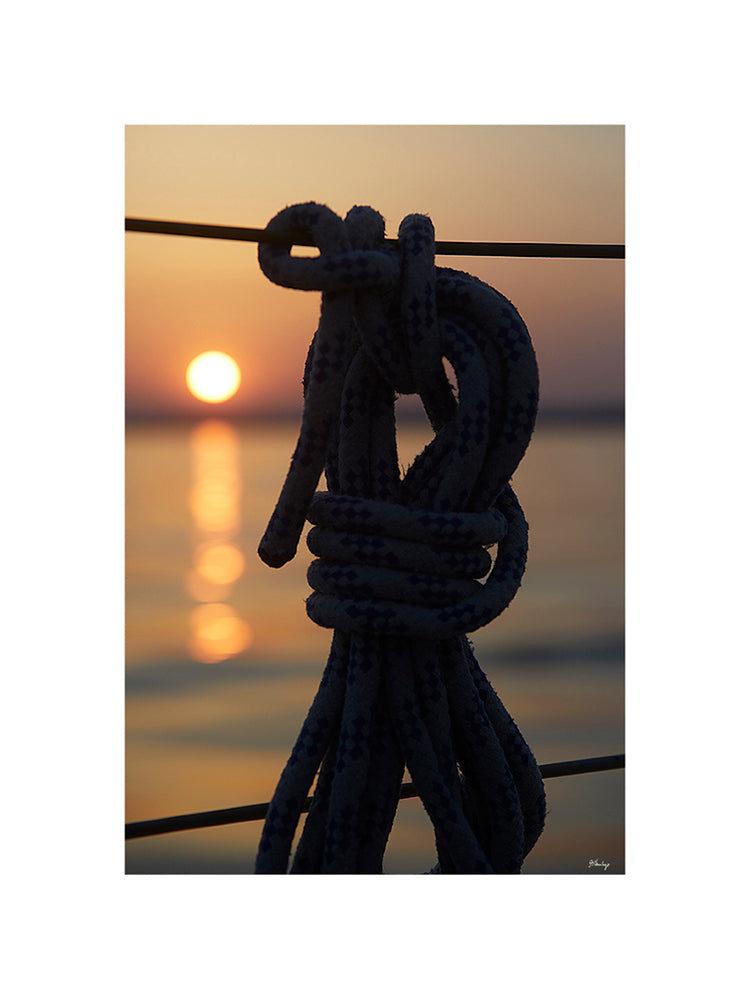 Sunset and Rope