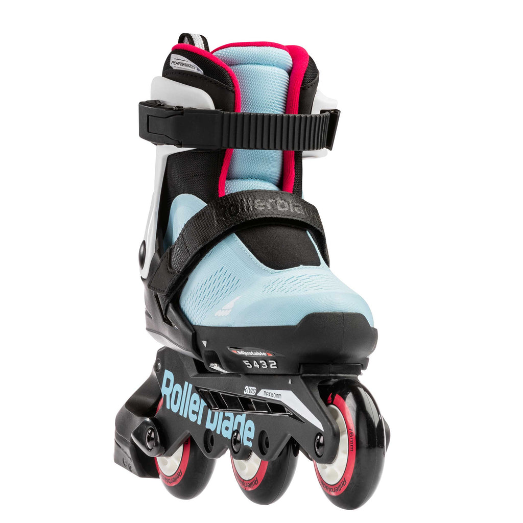 Rollerblade Microblade Free G 3WD - Ice Blue/Raspberry