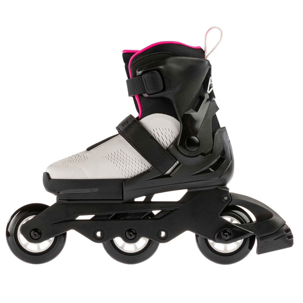 Rollerblade Microblade Free G 3WD - Grey/Pink