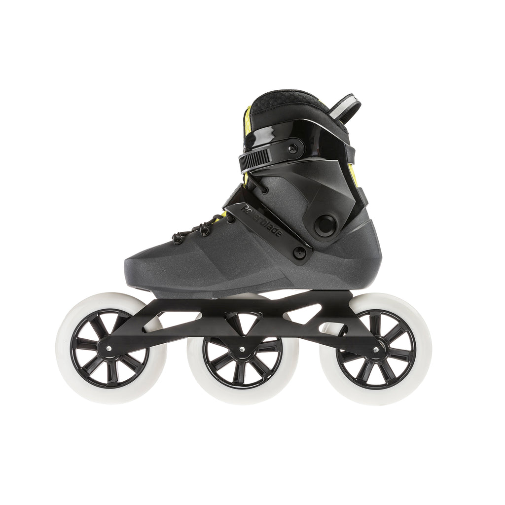 Rollerblade Maxxum Edge 125 3WD - Metallic Grey/Lime