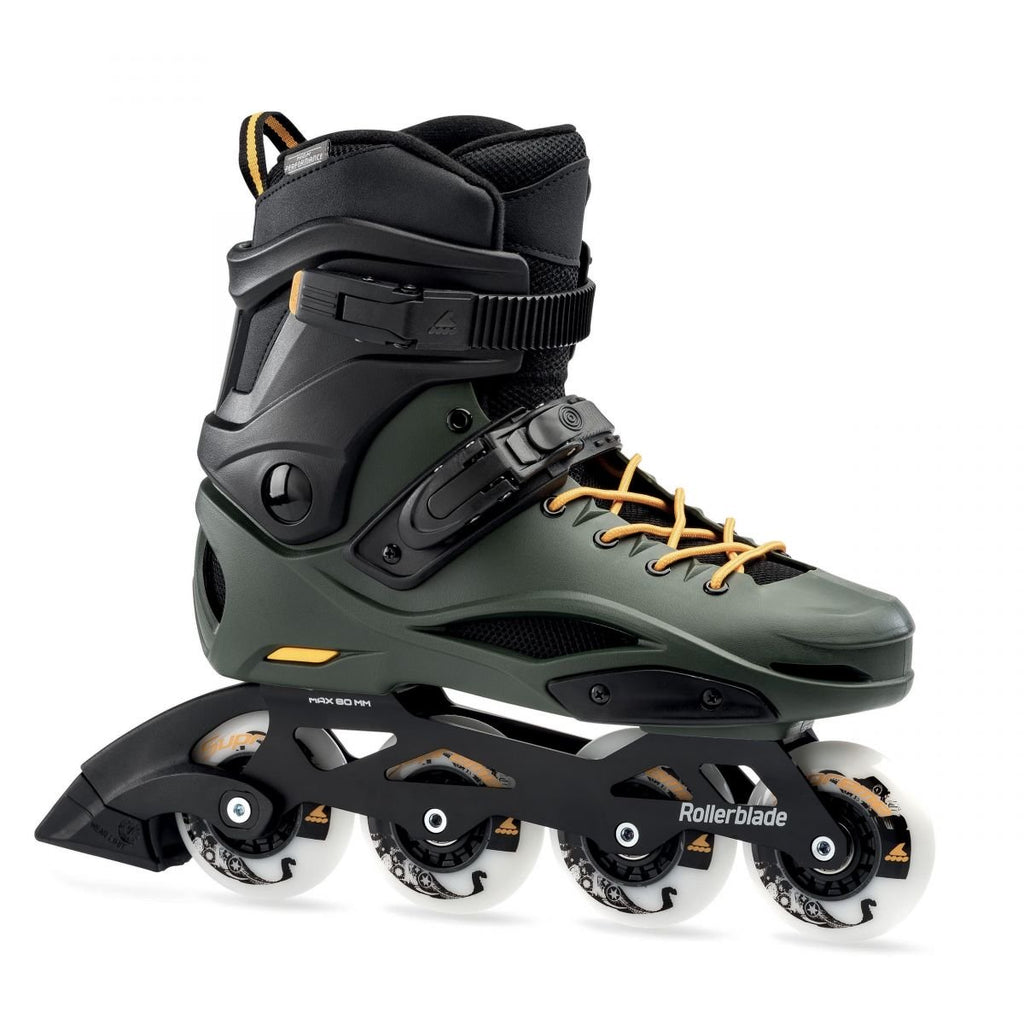 Rollerblade RB 80 Pro - Black/Dark Green