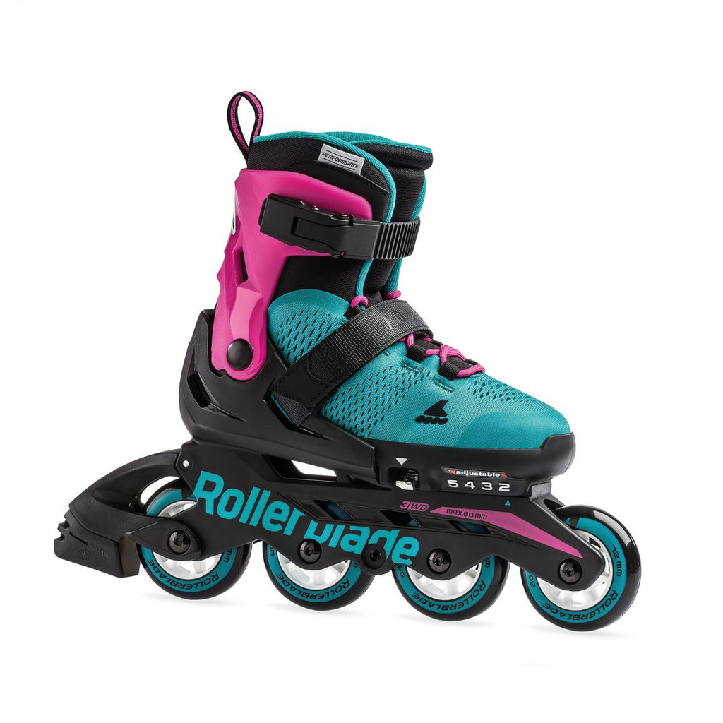 Rollerblade Microblade G - Pink/Emerald Green