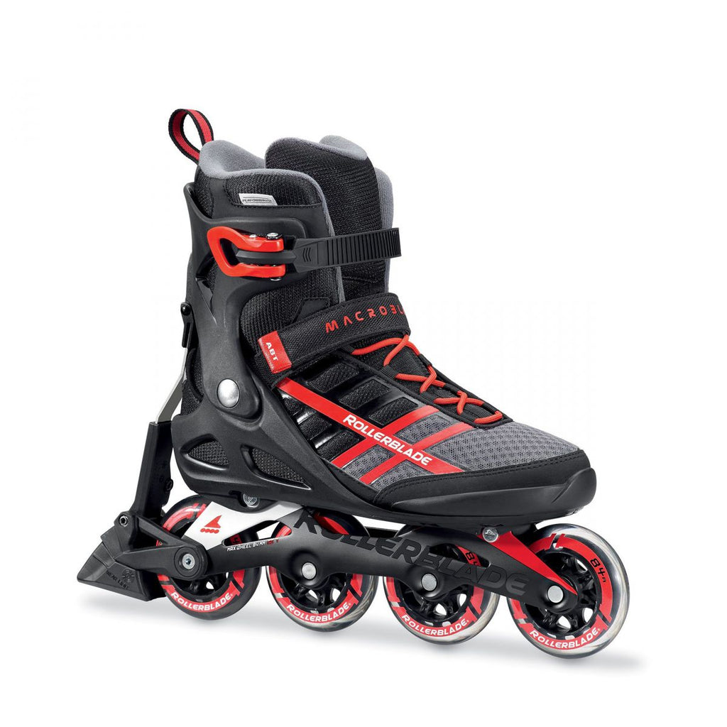 Rollerblade Macroblade 84 ABT - Black/Red