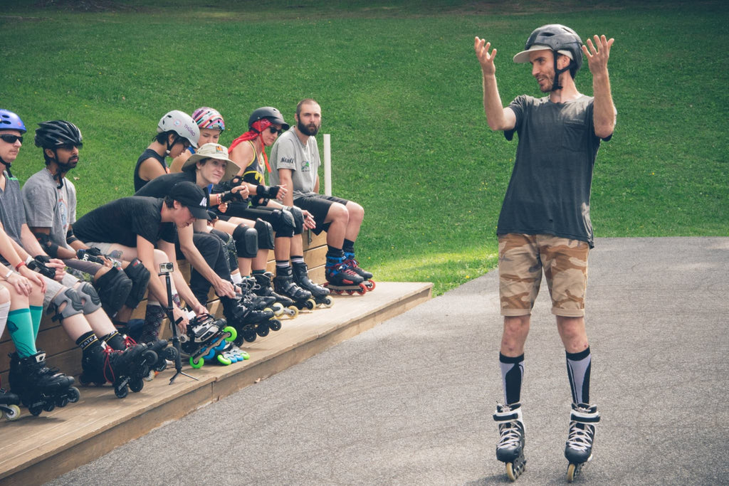 Inline Skate Instruction - Photo Andrew Wheatley