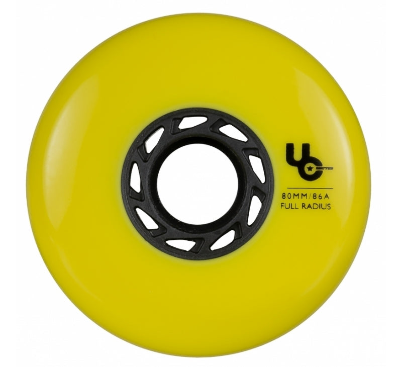 Undercover Team 80mm/86a full - Yellow (4 Pack)