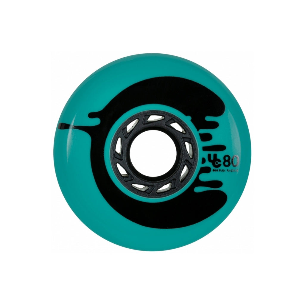 Undercover Cosmic Roche 80mm/88a full - Teal (4 Pack)