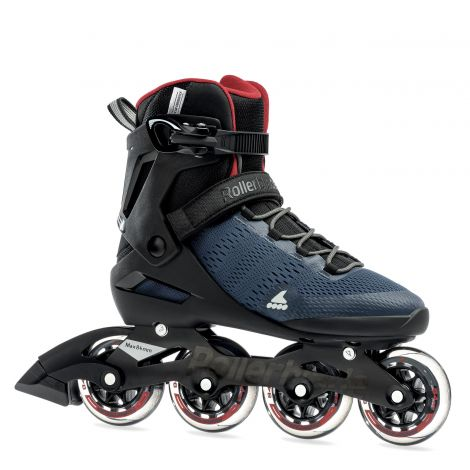 Rollerblade Spark 84 - Dark Denim/Jester Red