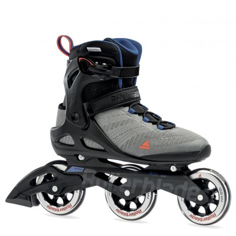 Rollerblade Sirio 100 3WD - Cool Grey/Surf Blue