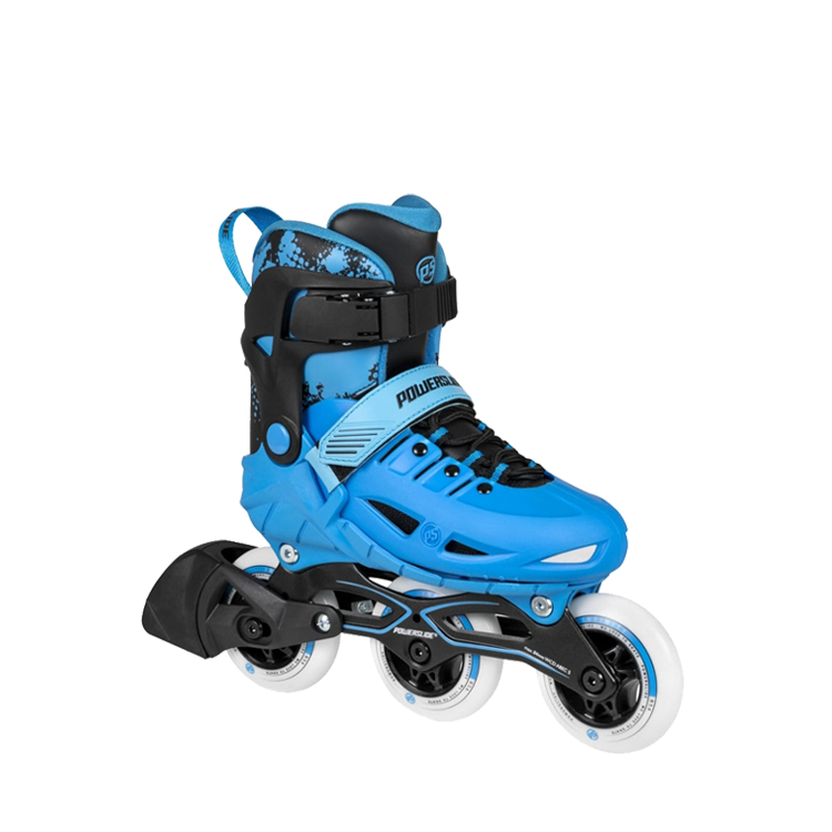Powerslide Phuzion Universe (Adjustable) - 3 Wheeler - Blue