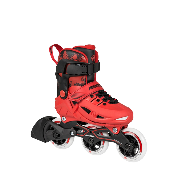 Powerslide Phuzion Universe (Adjustable) - 3 Wheeler - Red