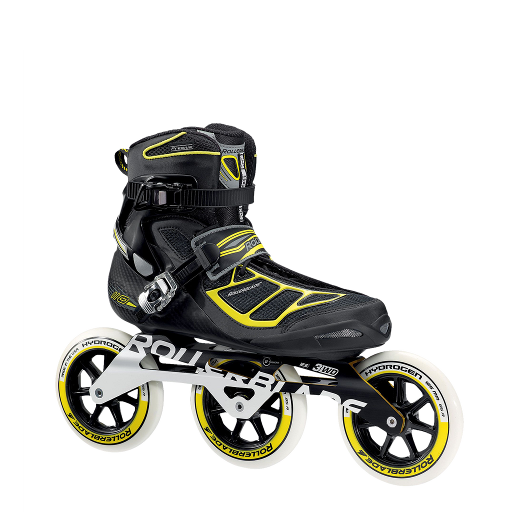 Rollerblade Tempest 125 3WD - Black/Yellow