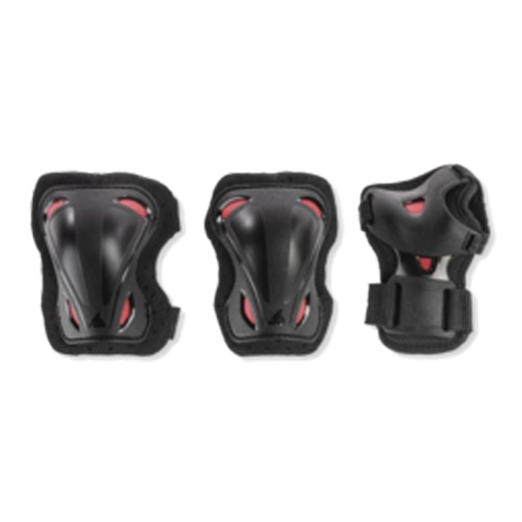 Rollerblade Combo Junior (Adjustable) - Black/Red