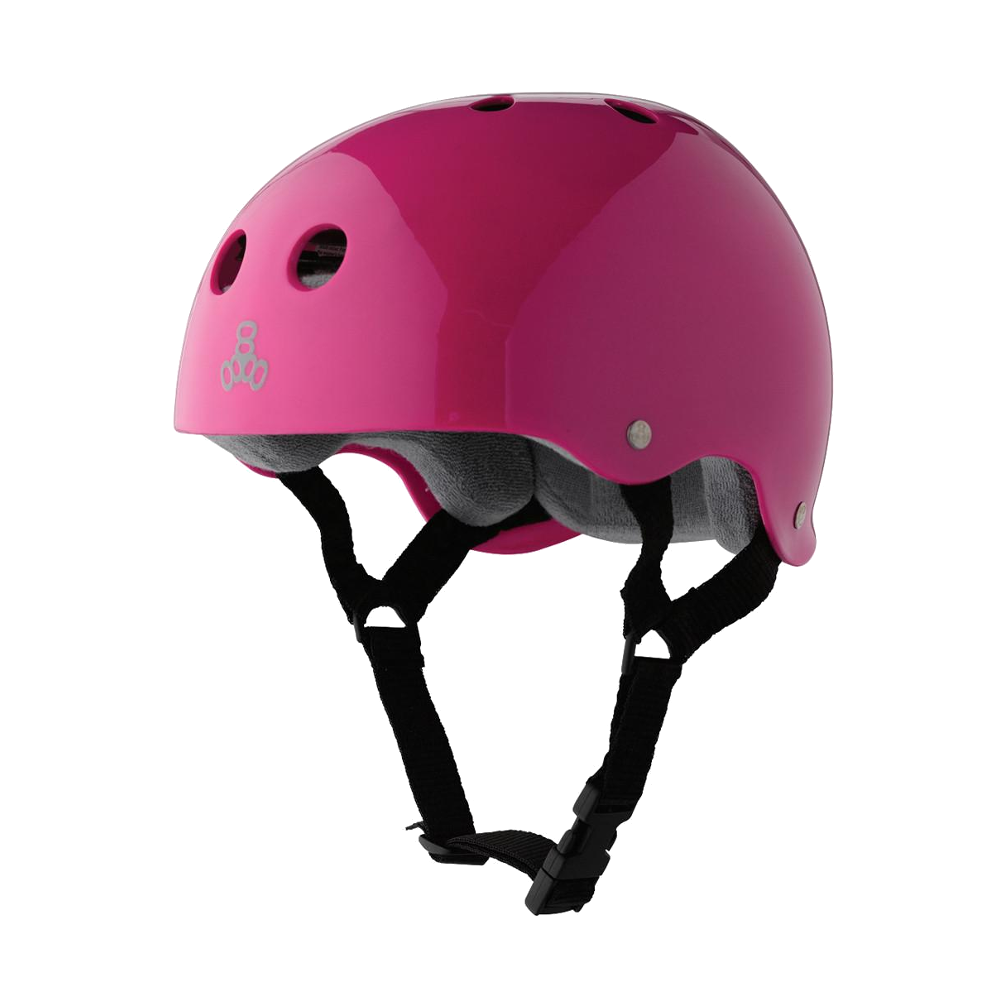 Triple 8 Sweatsaver Helmet - Pink Gloss