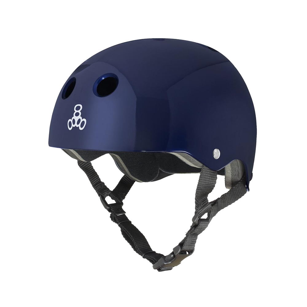 Triple 8 Brainsaver Helmet - Metallic Blue