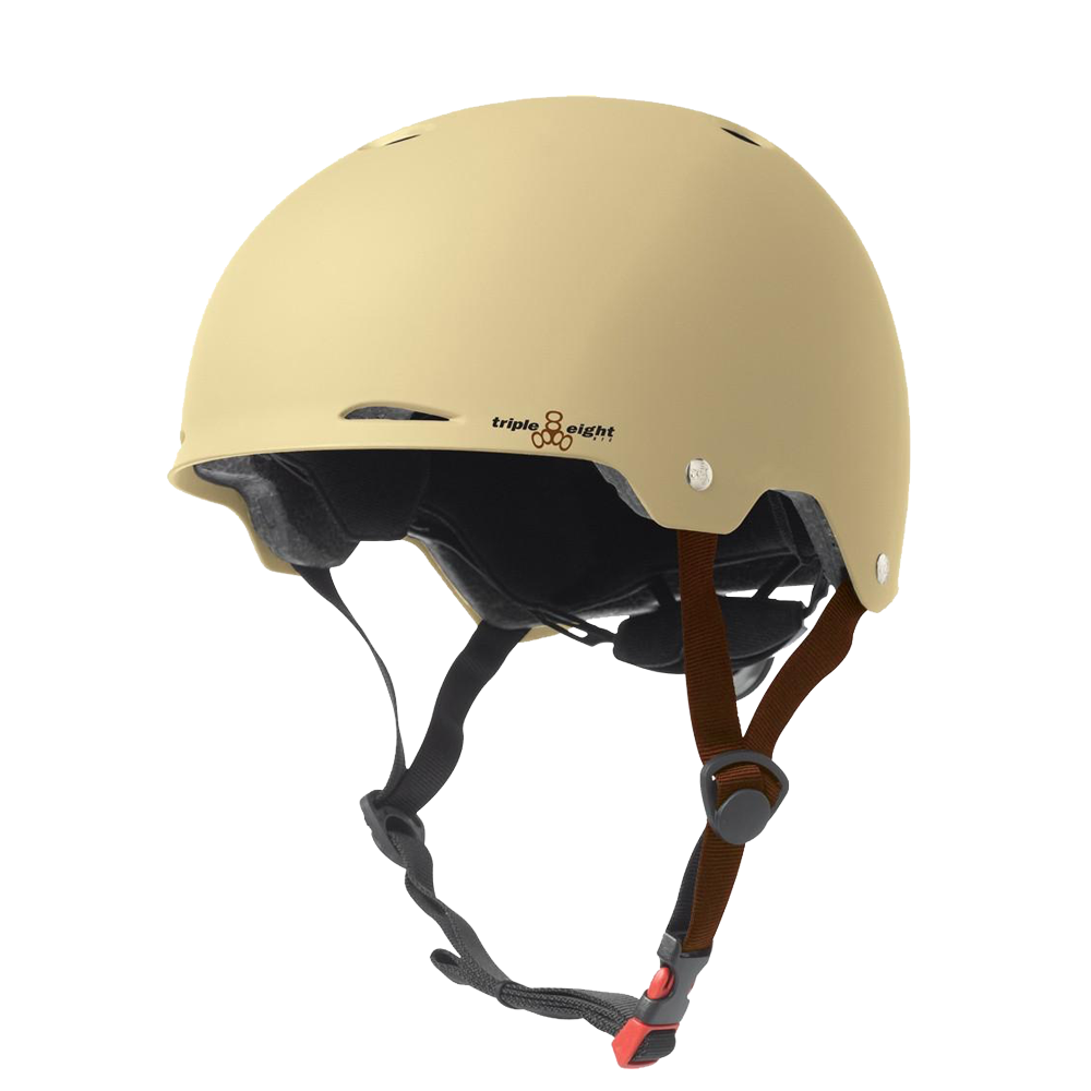 Triple 8 Gotham Dual Certified Helmet - Cream