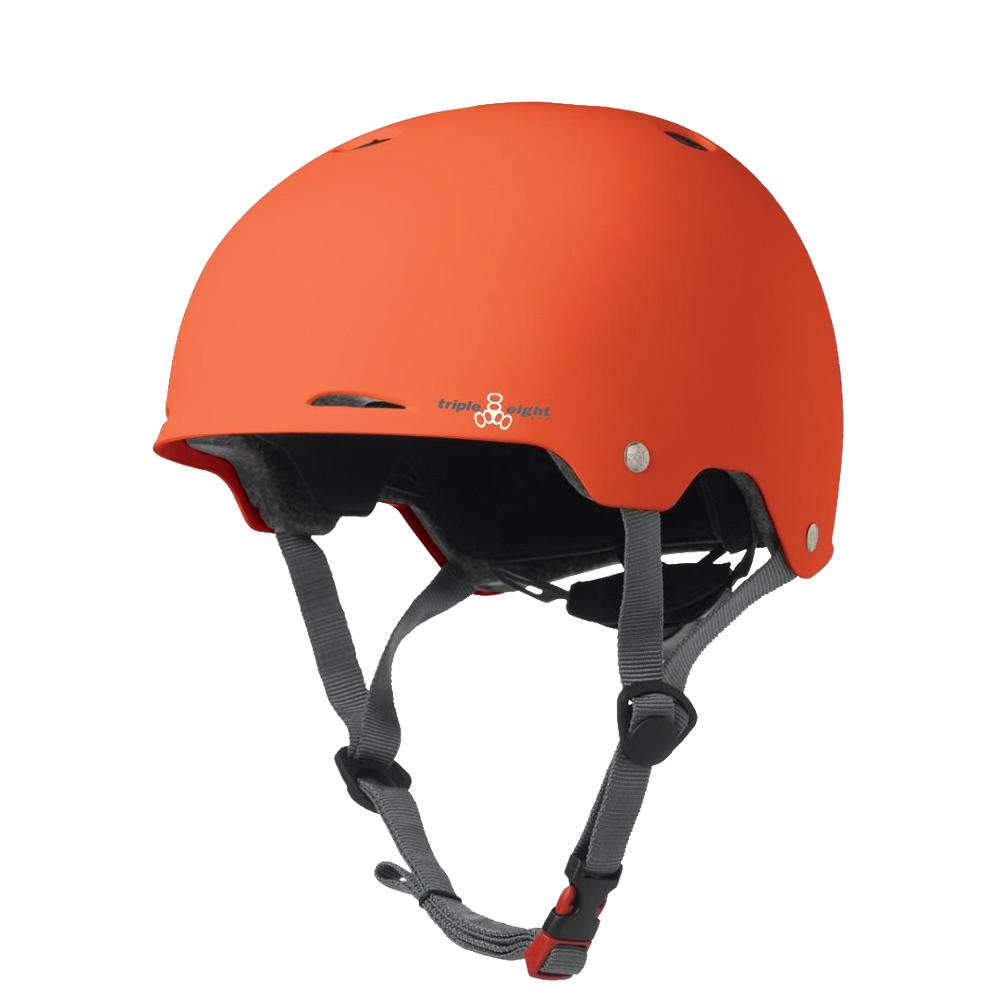 Triple 8 Gotham Dual Certified Helmet - Orange