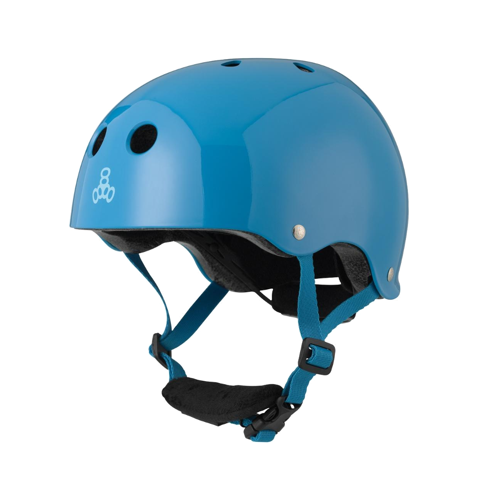 Triple 8 Lil 8 Helmet - Blue Gloss