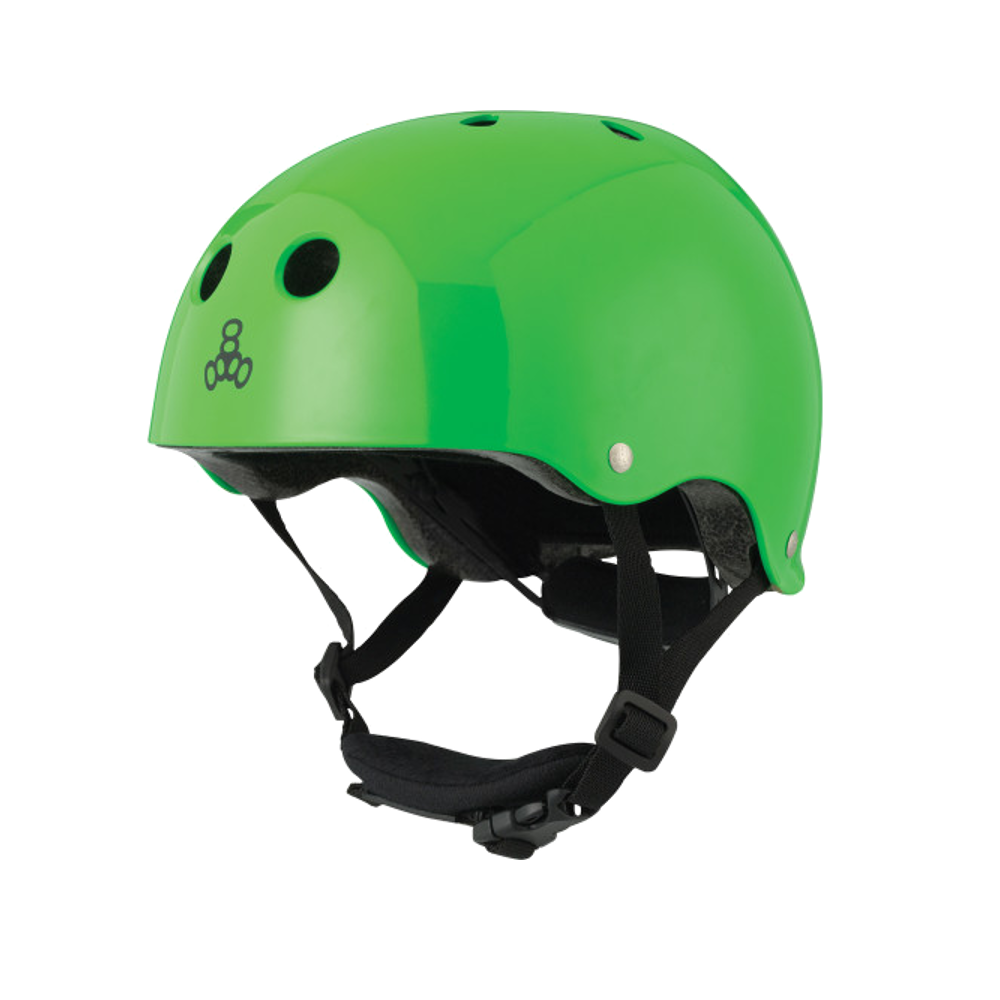 Triple 8 Lil 8 Helmet - Green Gloss