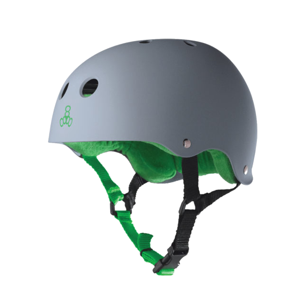 Triple 8 Sweatsaver Helmet - Carbon Rubber