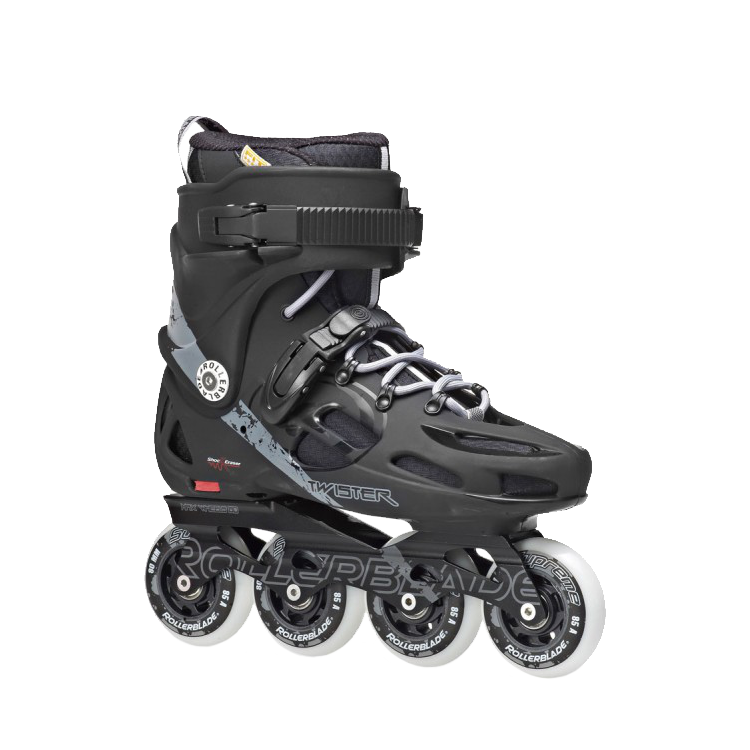 Rollerblade Twister 80 Black/Grey