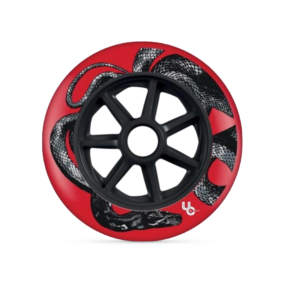 Undercover Biggie Python 125mm/88a - Red (Single)