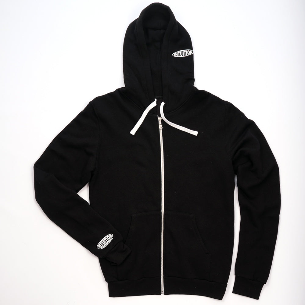 Intuition Men's Zip Hoody - Black