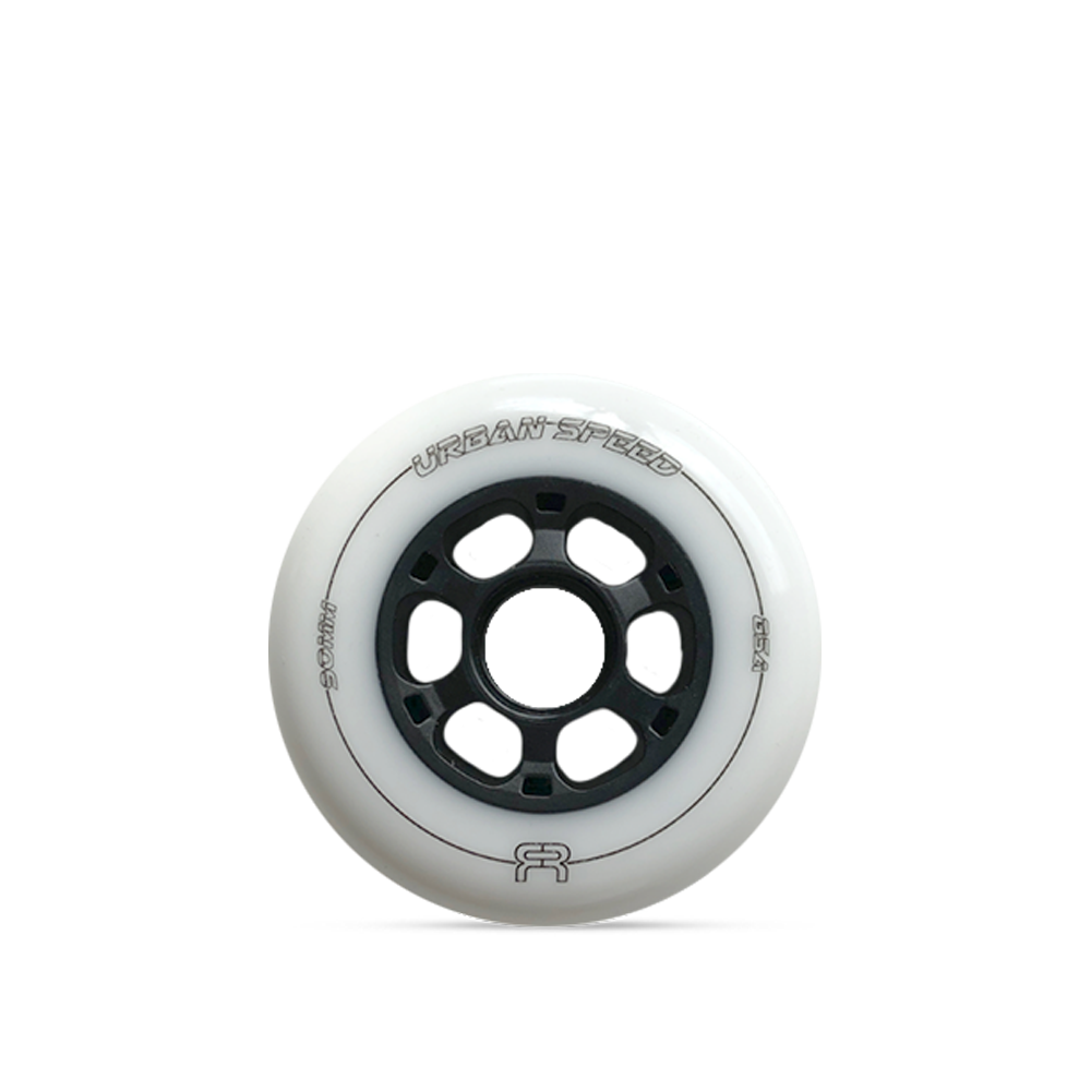 FR Urban Speed 90mm/85a - White (4 Pack)