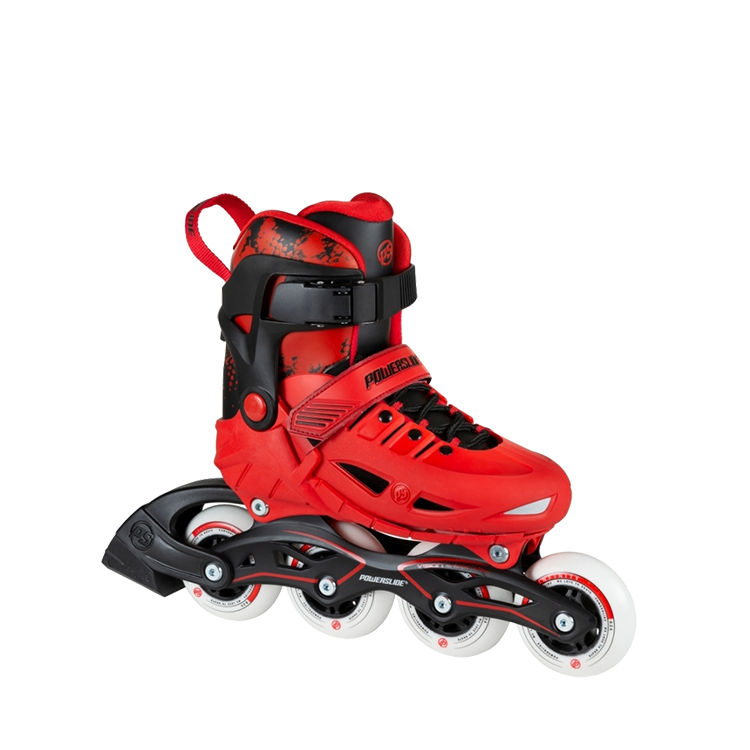Powerslide Phuzion Universe (Adjustable) - 4 Wheeler - Red
