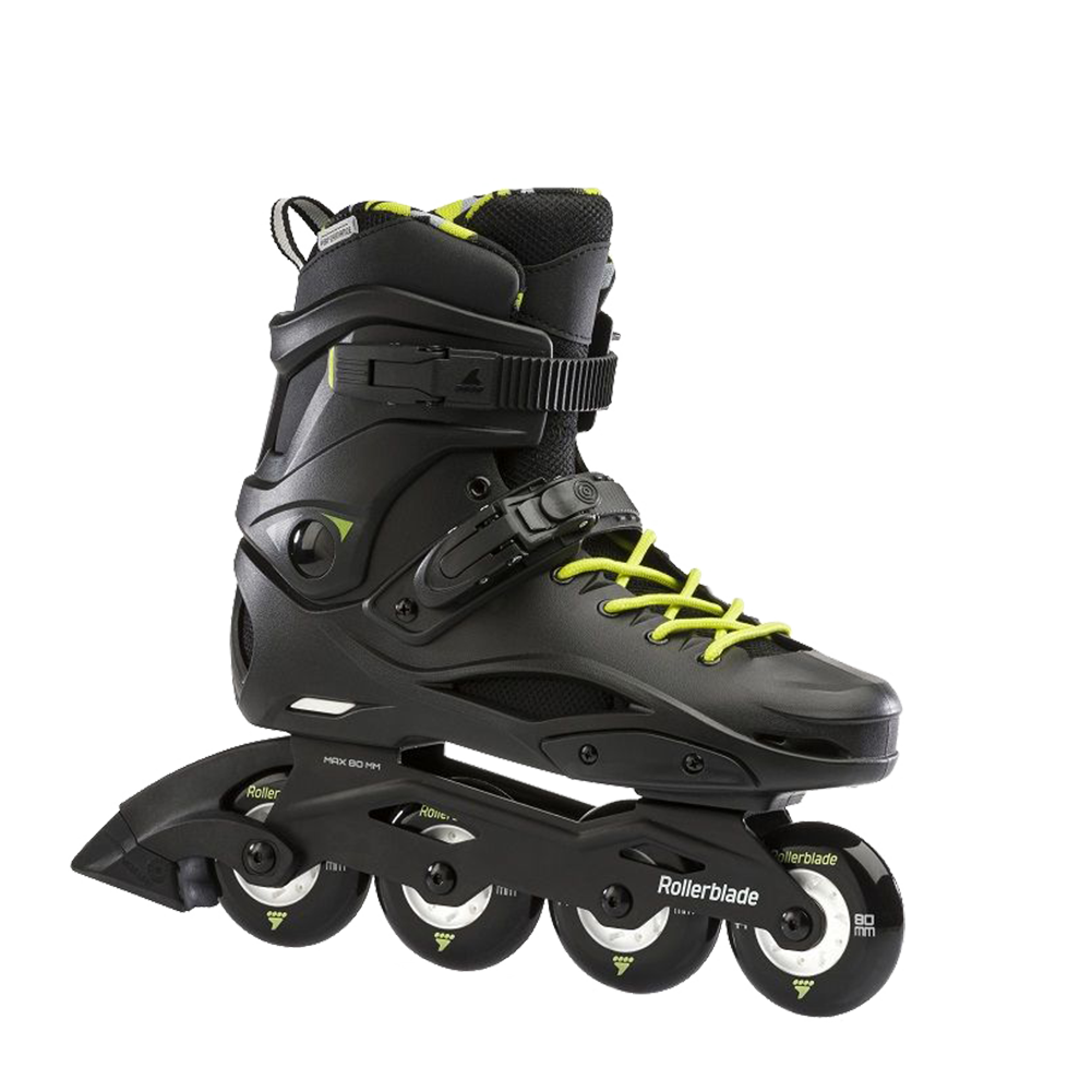 Rollerblade RB Cruiser - Black/Neon Yellow (PRE-ORDER)