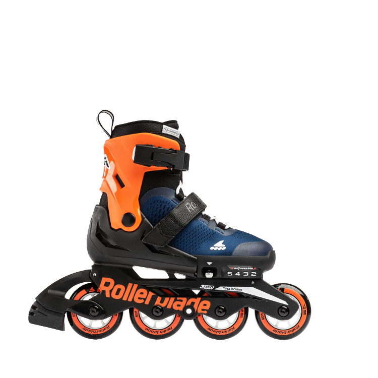 Rollerblade Microblade Cube - Midnight Blue/Warm Orange ( PRE-ORDER / ETA END OF MAY )
