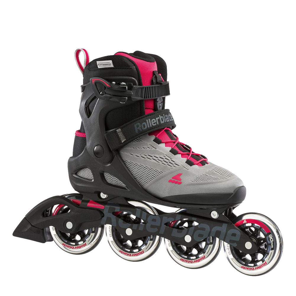 Rollerblade Macroblade 90 W - Neutral Grey/Paradise Pink