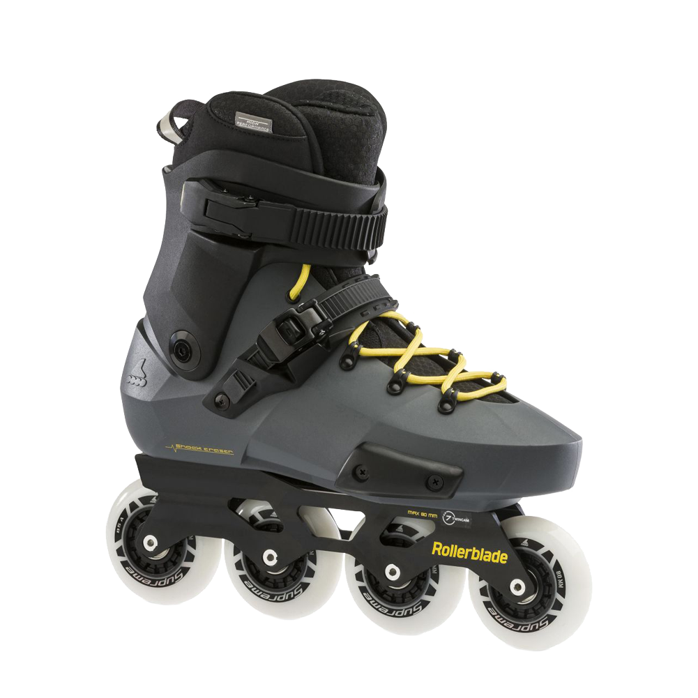 Rollerblade Twister Edge - Anthracite/Yellow