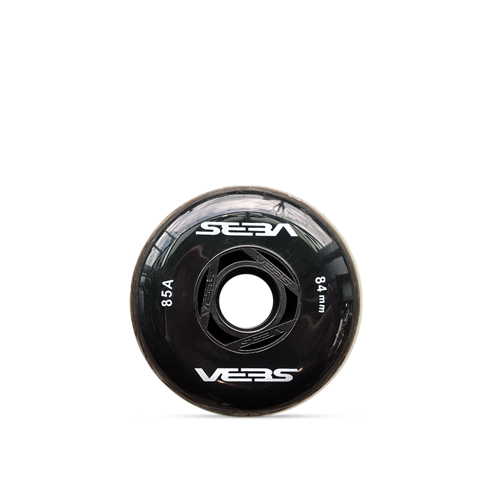 Seba 84mm/85a - Black (4 Pack)
