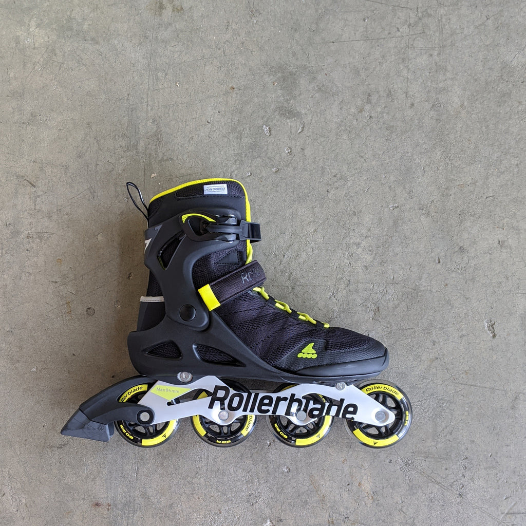 Rollerblade Sirio 80 - Black/Neon Yellow