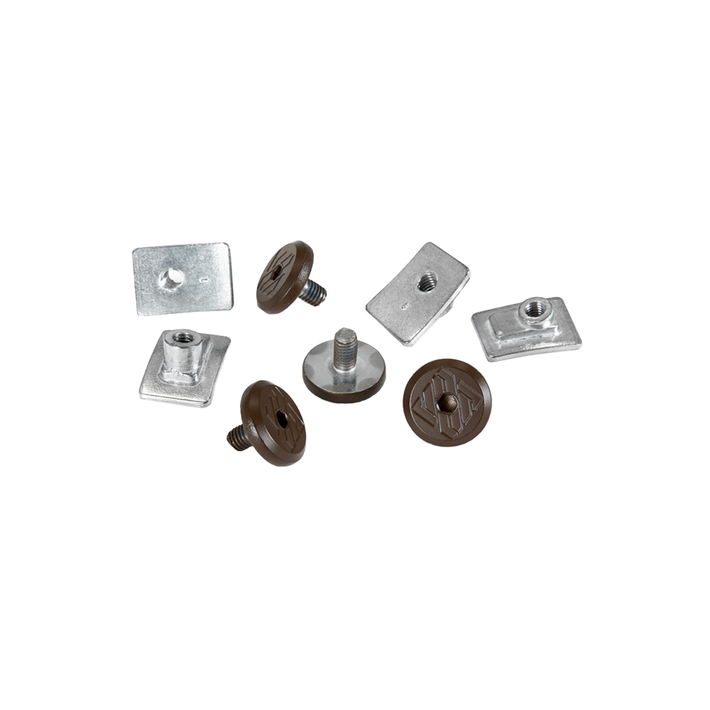 USD Aeon Cuff Screw Set - Brown (4 Pack)